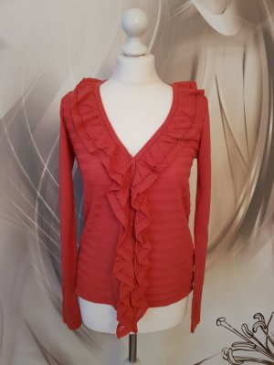 3 Suisses Cardigan bright red