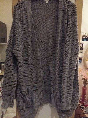 tolle Strickjacke grau in L