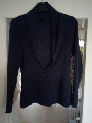 H&M Knitted Cardigan dark blue