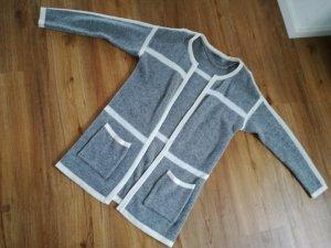 tolle Strickjacke von Vero Moda in Gr. S,grau,weiss