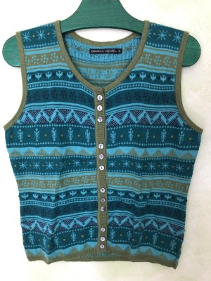 Gudrun Sjöden Knitted Vest multicolored