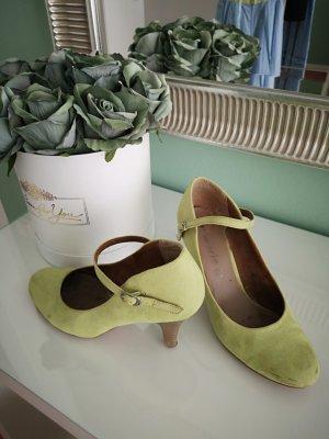Tamaris Backless Pumps lime-green