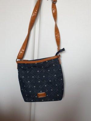 Carpisa Handbag cognac-coloured-dark blue