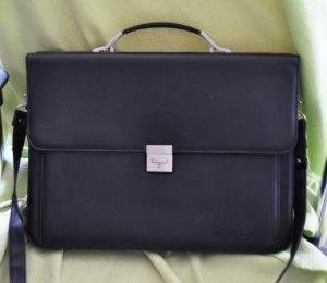 College Bag black imitation leather