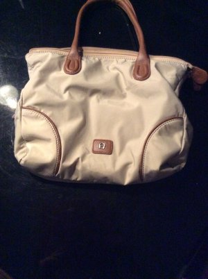 Aigner Shopper doré-bronze