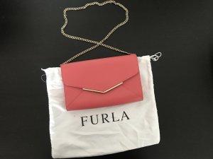 Tolle Tasche von Furla 1x getragen Korallrot