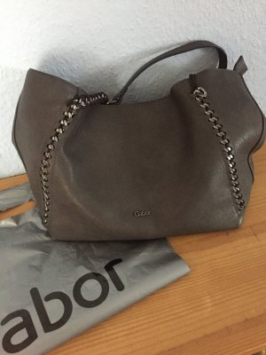 Gabor Carry Bag dark grey leather