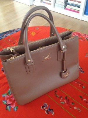 Sansibar sylt Handbag grey brown