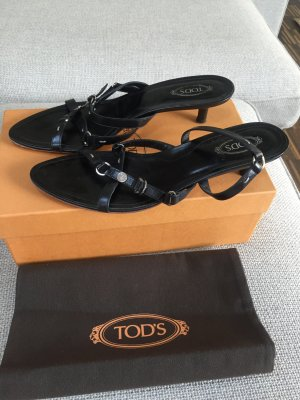 Tod's Strapped Sandals black