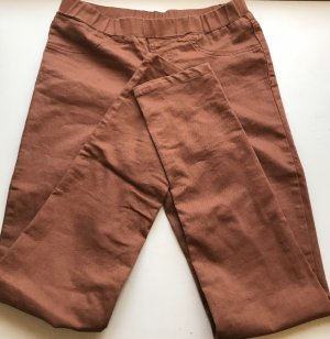 Treggings cognac-coloured