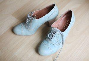 tolle, türkisene Leder Stiefeletten Schuhe 38 von OFFICE