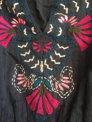 Tolle Tunika Bluse Kaftan Embroidery Stickerei Boho Vita Kin Style Vyshyvanka