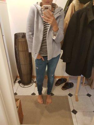 Zara Veste gris ardoise-bleu clair