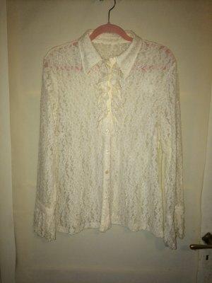 Tolle Vintage-Spitzen-Bluse