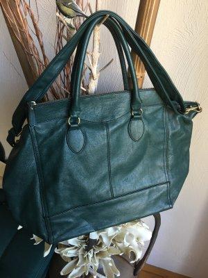 tolle waldgrüne große Handtasche von H&M