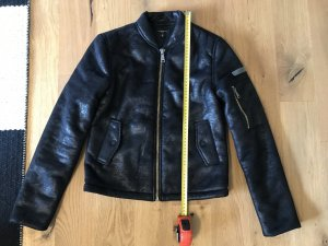 Liebeskind Berlin Fur Jacket black polyester