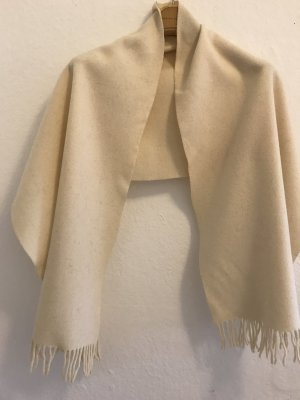 Tolle warme Schal aus Wolle von Fabiana Filippi in beige