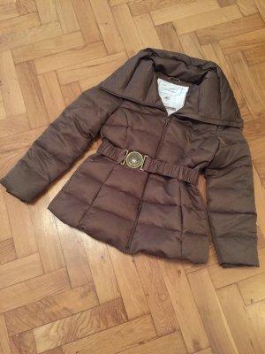 Tolle, warme Winterjacke von Mango Suit in Karamell in Größe M