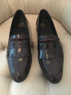 Tolle weinrote Loafer