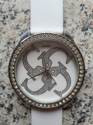 Guess Analog Watch white-silver-colored