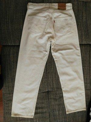 tolle weiße high waist von Levis gr 30/30