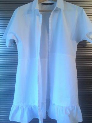 Tolle weiße Longbluse von Zara in L
