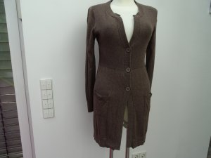 Repeat Long Knitted Vest light brown-beige