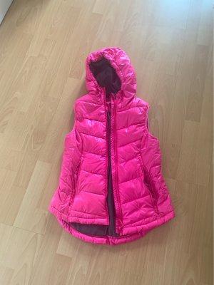 H&M Down Vest pink-neon pink