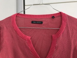 Marc O'Polo Gilet tricoté rose-gris clair