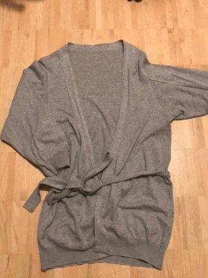 Schumacher Cache-cœur en tricot gris clair