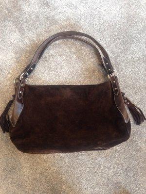 Tolle Wildleder Handtasche von Abro
