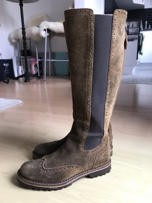 Dirndl + Bua Riding Boots multicolored