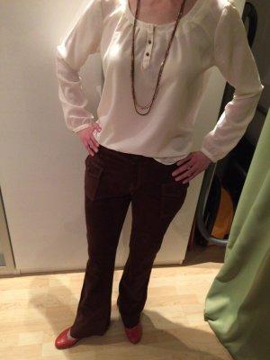 Tolle Wildlederhose, Boho Style, braun, Größe 40, NEU