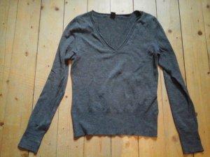 Toller Basic Pullover grau S. Oliver Gr. 36 top