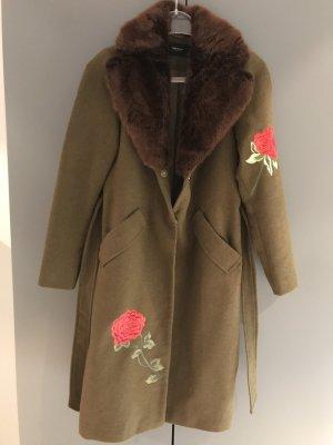 Vero Moda Fake Fur Coat multicolored