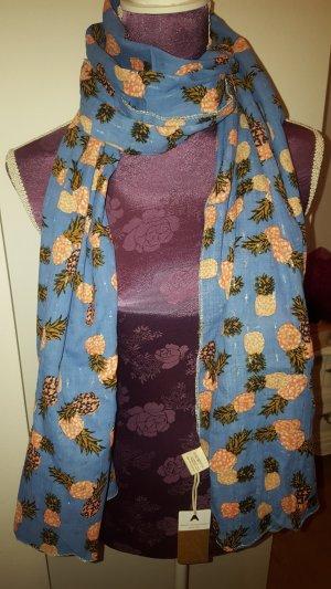 Écharpe multicolore coton