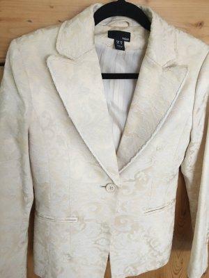 H&M Blazer blanc cassé