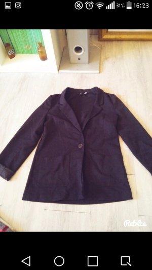 toller blazer in schwarz oversize