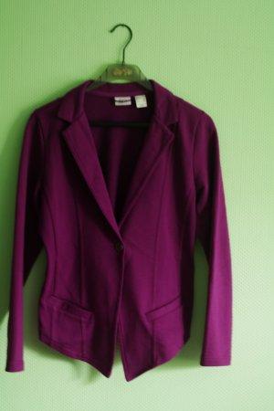 Toller Blazer Jerseyblazer Violette Magenta Größe 40/42 Jersey mit Baumwolle