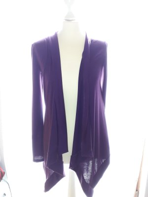 toller Cardigan in purple/lila