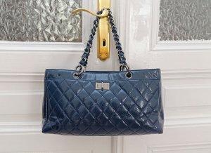 Chanel Sac à main bleu foncé