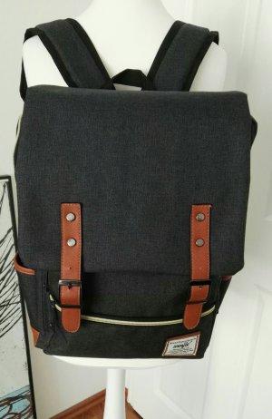 toller cooler Rucksack grau sehr stylisch