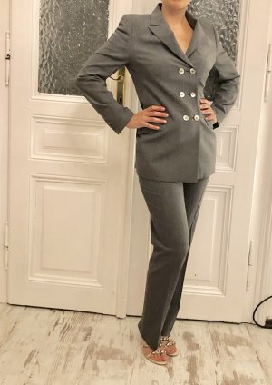 Piazza Sempione Business Suit grey-silver-colored