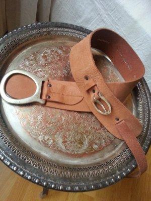 Hallhuber Belt silver-colored-brown