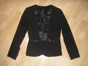 Toller eleganter Blazer Jacke von H&M schwarz Gr. 34 - NEU!