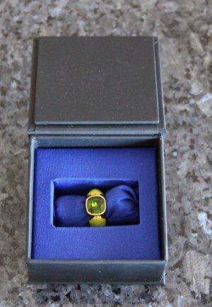 Toller emalierter gold/grün farbener Joop Ring