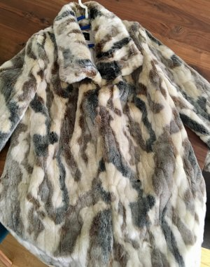 Toller Fake Fur Mantel wie Neu
