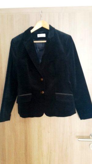Toller Feincord-Blazer von Tamaris dunkelblau/braun