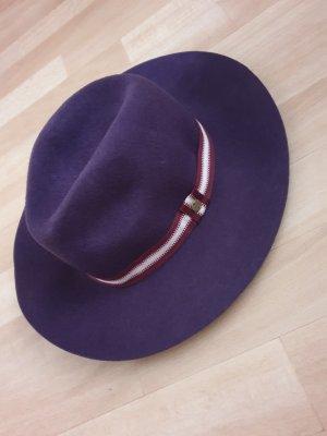 Esprit Vilten hoed donkerpaars