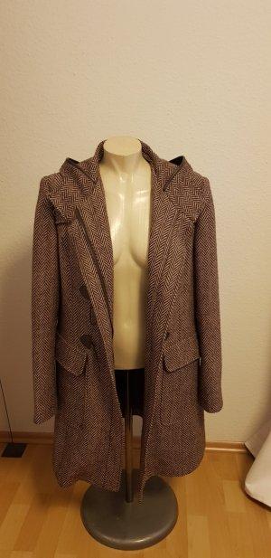Aygill's Abrigo de lana marrón grisáceo